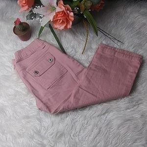 💝🎆 Clash capri jeans size 5